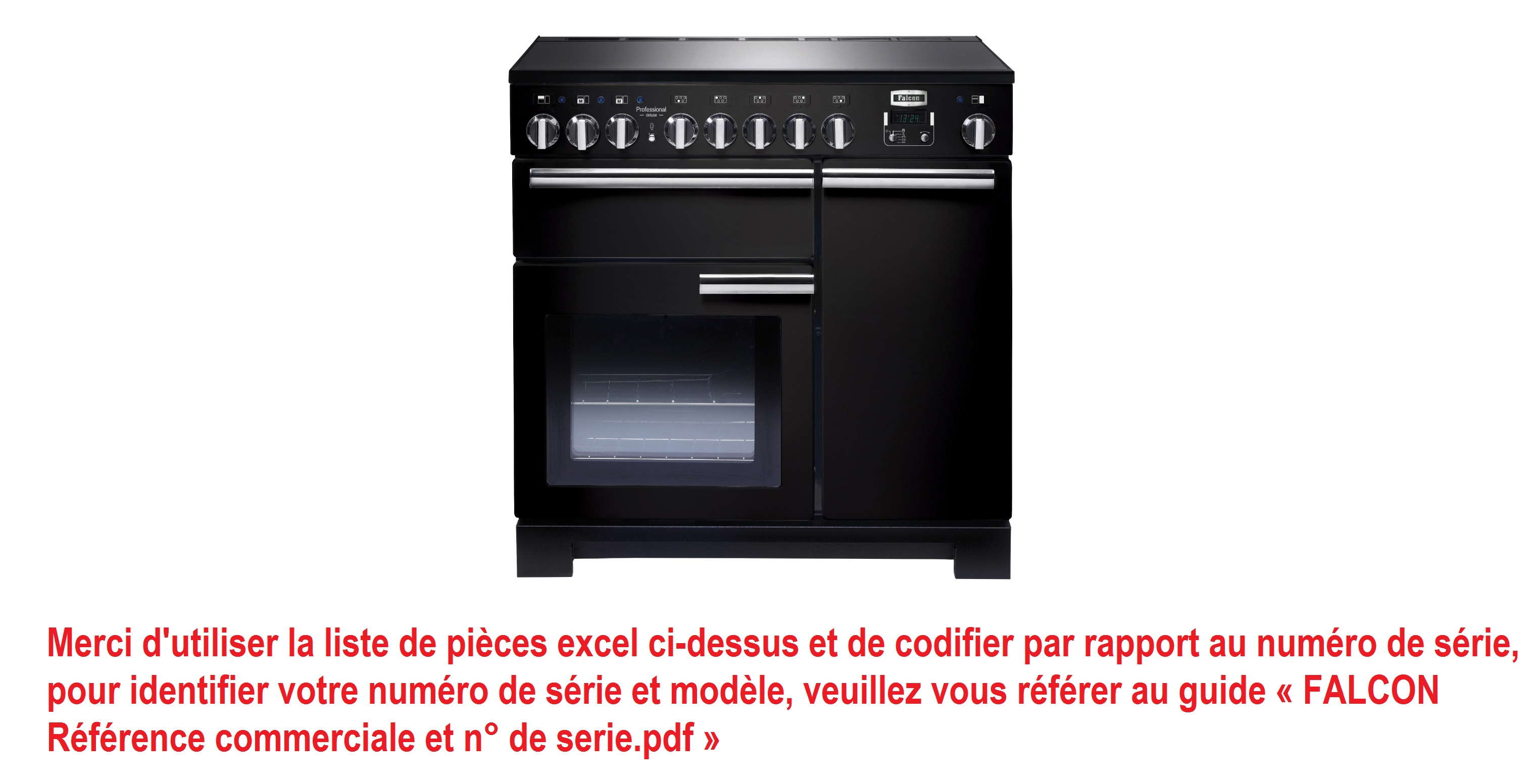 Professional Deluxe 90 Induction - DSL699 - SN apres n°186000